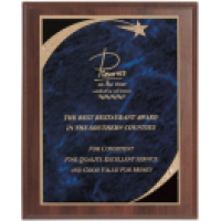 Victory Star Designer Plaque - 4 Colors